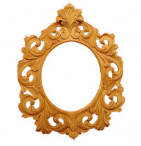 Beautiful Carved Mirror Frame