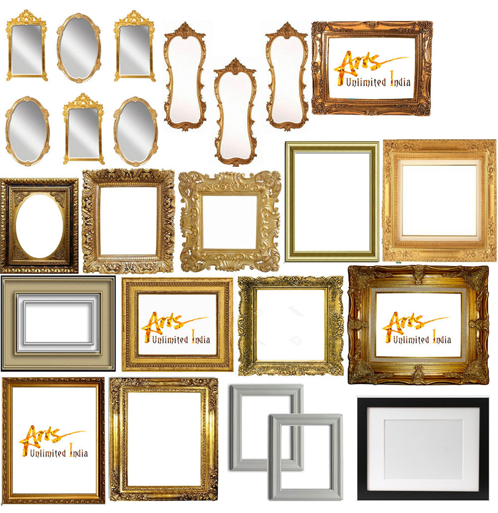 Wood Carving Mirror Frames