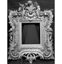 Antique Carving Photo Frame