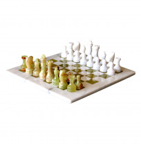 Marble Onyx Chess Set