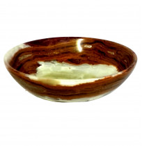 Antique ONYX Marble Bowl