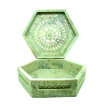 Antique Marble Box