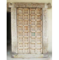 Old Antique Carved Door