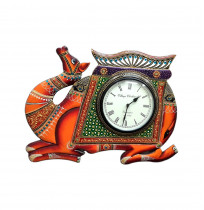 Decorative Analog Handcarved Clock