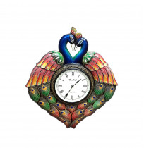 Random Peacock Medium V Analog Wall Clock