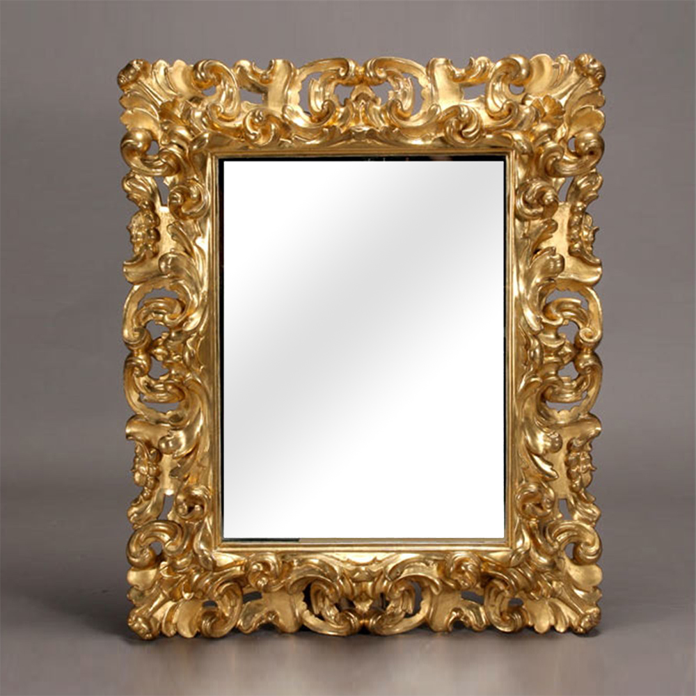 Arts unlimited india udaipur rajasthan photo frames italian baroque style gilt and gessoed mirror frame jeuxipadfo Image collections
